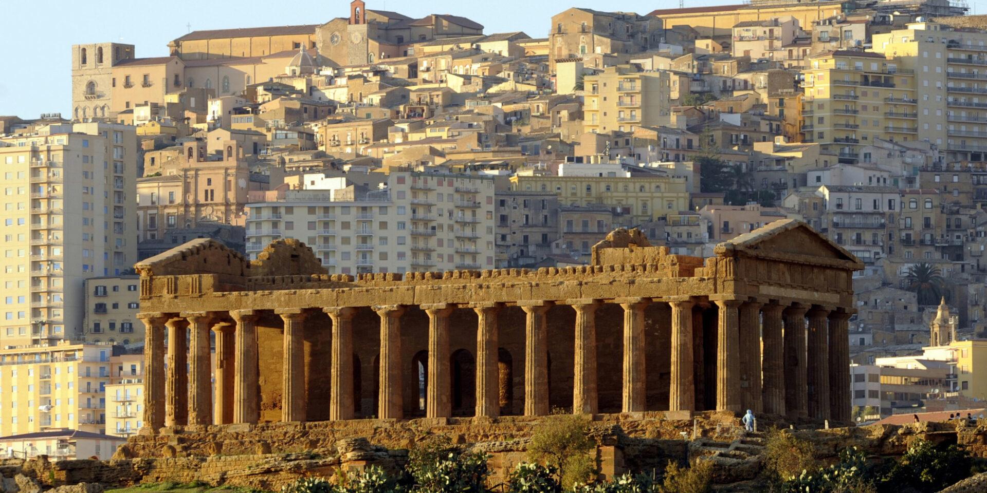 Tour Agrigento, Valle dei templi